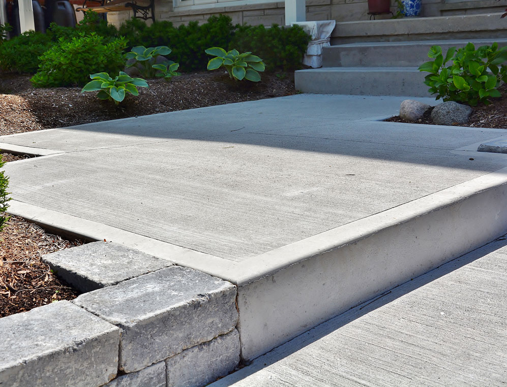 driveways patios walkways steps jl concrete designs